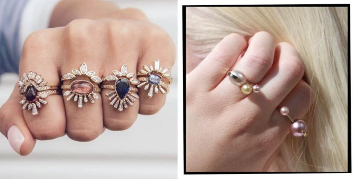 Birthstone Engagement Rings Are 2019's Breakout Wedding Trend