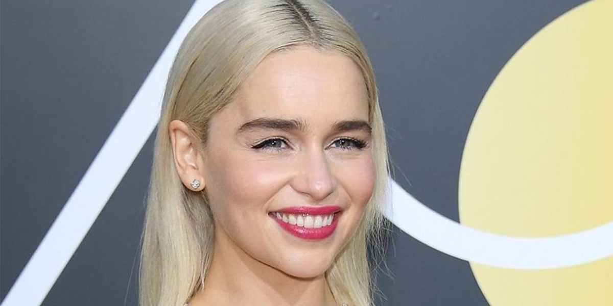 emilia clarke red carpet makeup