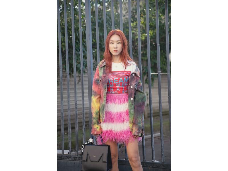 South Korean model, Han Hye Jin (@modelhanhyejin) photographed by Hugo Lee and Daniel Kim.