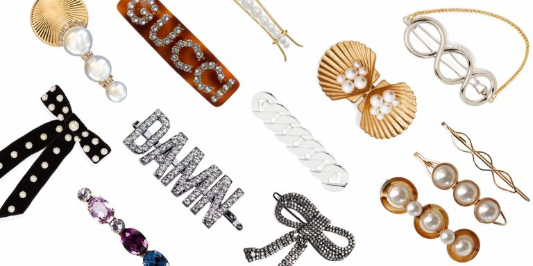 How Clip-Baity, Hair Barrettes Are Back In Trend