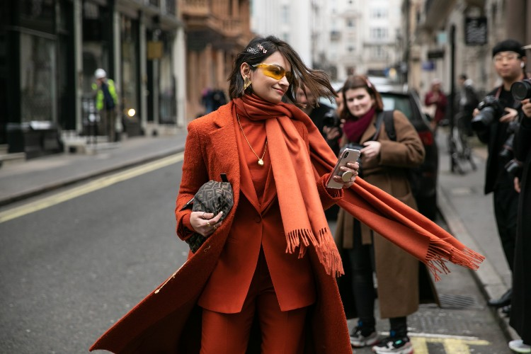 Spotted on the streets this London Fashion Week which took place this February. Photographed by Hugo Lee and Daniel Kim.