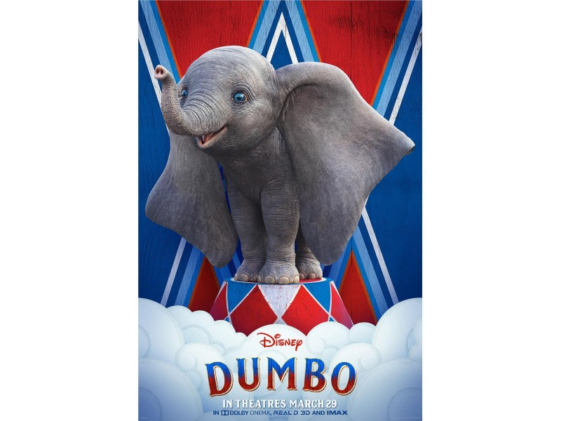 "A poster of ""Dumbo"" (2019) on the film's official Instagram account, @dumbo. LOEWE notes that their capsule collection is unrelated to the movie."