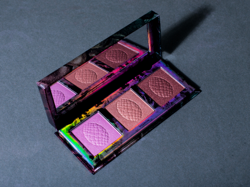 Mother of Dragons Highlighter Palette, S$55. Photograph by Tung Pham