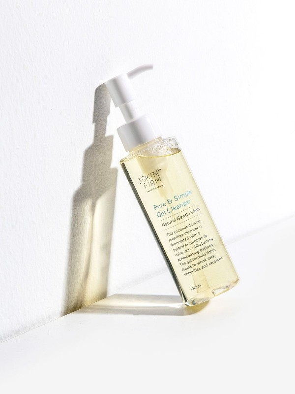 A foaming gel cleanser formulated with three ingredients (S$18.90) by The Skin Firm.