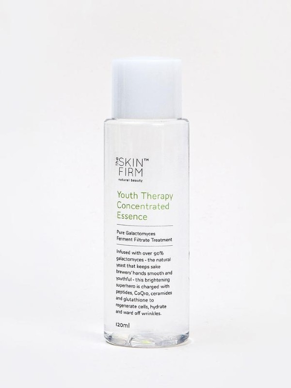 The youth therapy concentrated essence (S$29.90) made with four ingredients by The Skin Firm.