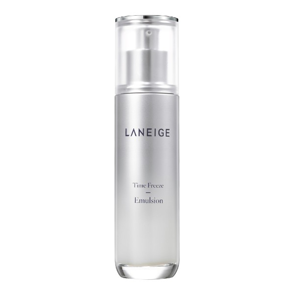The Time Freeze Emulsion (S$65) is part of Laneige's newest anti-aging line for wrinkles, firmness and hydration which launched this January.