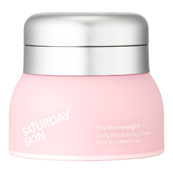 Saturday Skin's featherweight daily moisturising cream (S$69) was designed for younger, millennial skin.