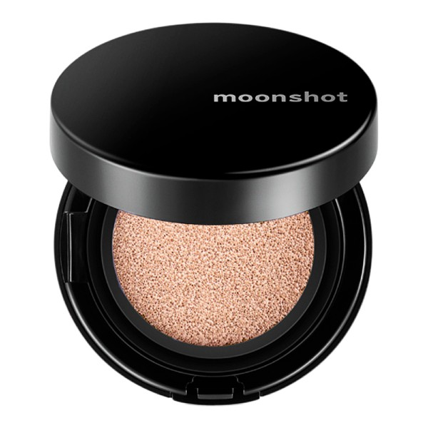 Moonshot's cult-beloved Microfit Cushion with SPF50 (S$36) has earned raving reviews for its lasting coverage, dewy finish, and hydrating properties.