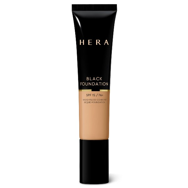The Black Foundation with SPF15 (S$75, launching 30 April) comes as a rehash of the luxury skincare brand, HERA's hero product, the Black Cushion with SPF34. The new foundation, however, comes with higher coverage, and a semi-matte finish.