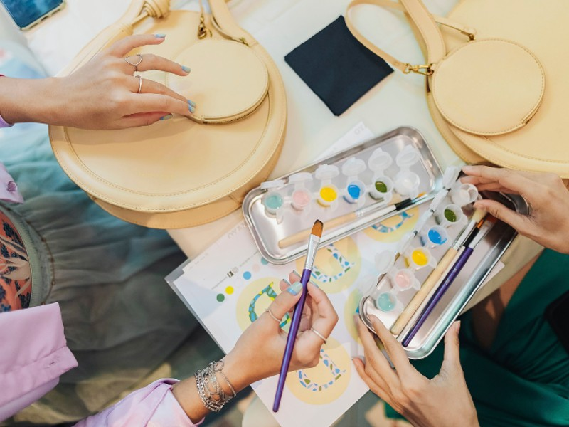 The Tassel Round Tote (S$85.90) will hit local Charles & Keith stores on the 15th May. Image courtesy of Charles & Keith.