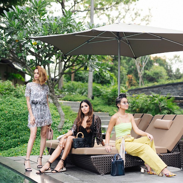 From left: Indian influencers, Monalisha Mahapatra, and Mitali, and the 23-year-old Filipino actress, Issa Pressman.