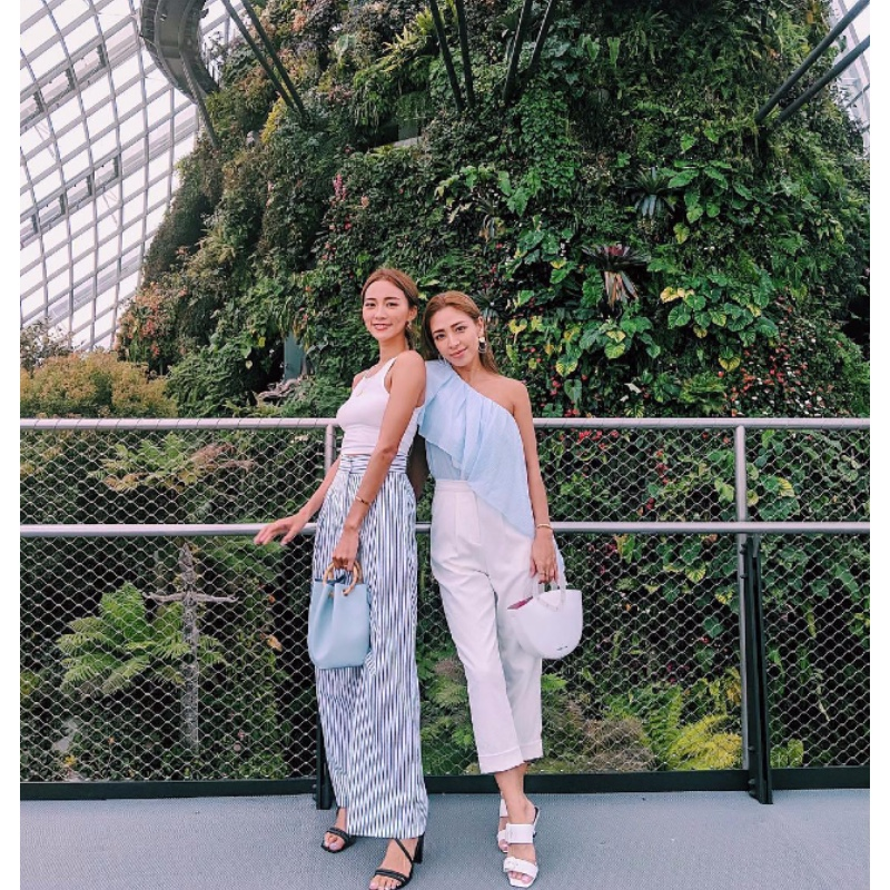 A shot of Tan Catherine Nakashima (@kathy_tan529, left) and Shierry (@shierry, right) on the former's Instagram account.