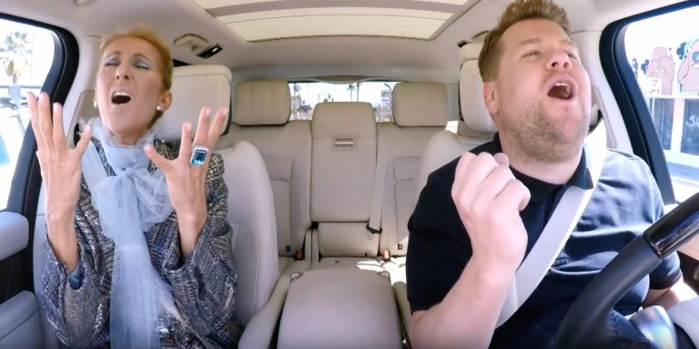 Céline Dion's Carpool Karaoke Is the Most Blissfully Bonkers Video You'll Ever See