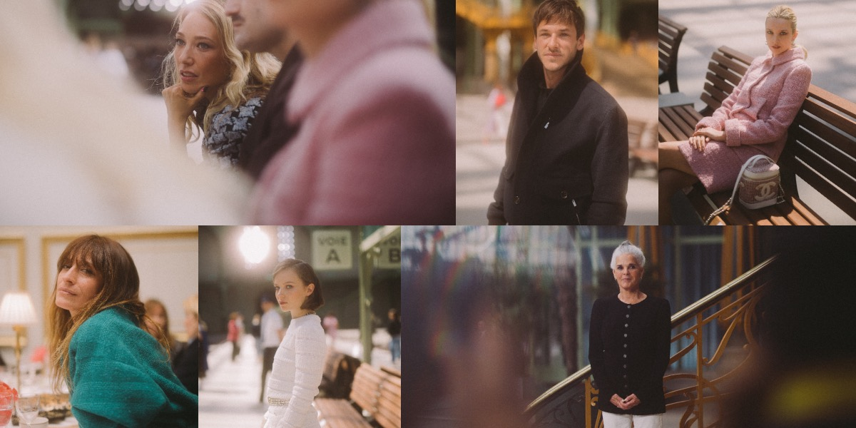 Lensed during breakfast at cafe Le Riviera and later at the runway show: Actresses Laura Smet, Greta Bellamacina, Ali MacGraw and Diane Rouxel, plus Chanel ambassadors Gaspard Ulliel and Caroline de Maigret.