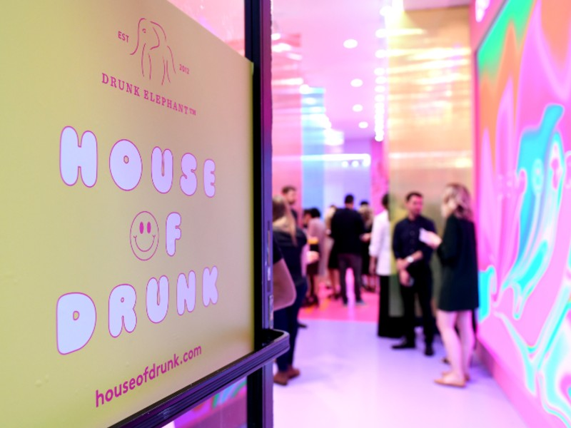 The pop-up store runs from the 14th through 23rd June 2019 at 89 Crosby Street, Soho, New York City. Image courtesy of Drunk Elephant