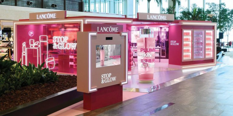 Before You Take Off, Visit This Lancome Pop-Up In Changi Airport